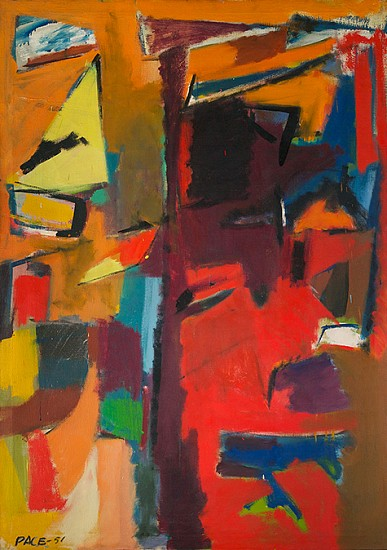 Stephen Pace ,   Untitled (51-9) | SOLD  ,  1951     Oil on canvas ,  56 x 40 in. (142.2 x 101.6 cm)     SOLD     PAC-00002
