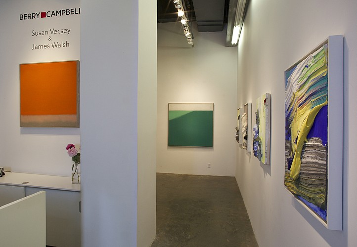 Susan Vecsey & James Walsh - Installation View