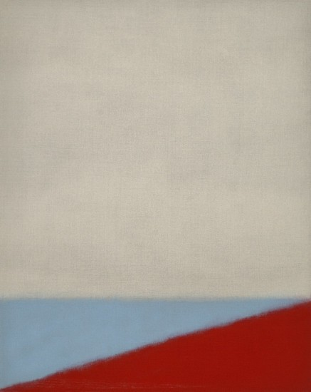 Susan Vecsey ,   Untitled (Blue/Red) | SOLD  ,  2014     Oil on linen ,  57 x 45 in. (144.8 x 114.3 cm)     SOLD     VEC-00037