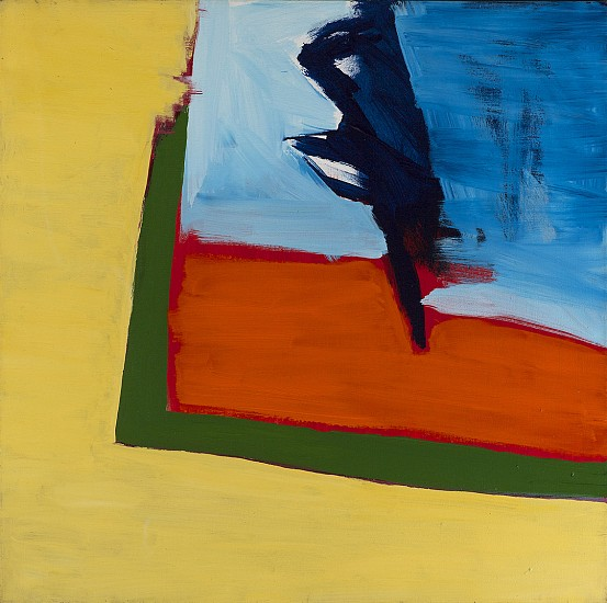 Ann Purcell ,   AM-RM | SOLD  ,  1976     Acrylic on canvas ,  36 x 36 in. (91.4 x 91.4 cm)     SOLD     PUR-00043