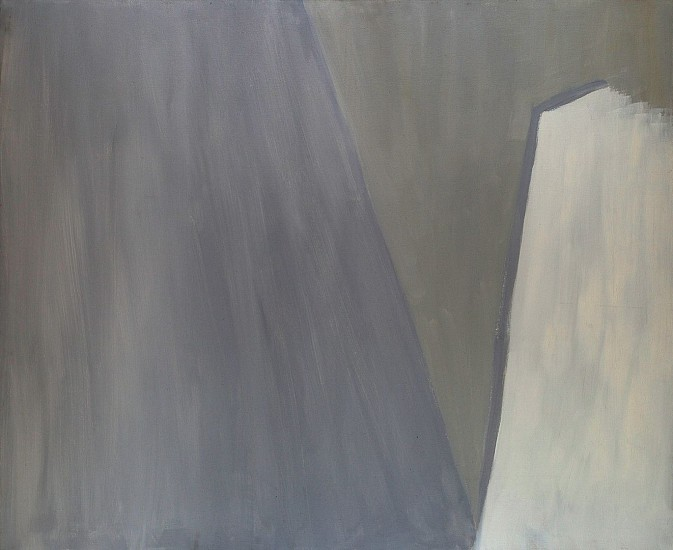 Ann Purcell ,   Good Greys  ,  1976     Acrylic on canvas ,  60 x 72 in. (152.4 x 182.9 cm)     PUR-00035