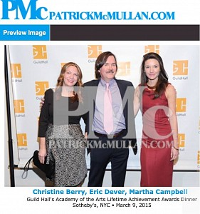 News: Christine Berry, Eric Dever, and Martha Campbell on the Red Carpet, March  9, 2015