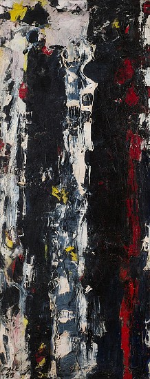 Stephen Pace ,   Untitled (55-55) | SOLD  ,  1955     Oil on canvas ,  49 x 20 in. (124.5 x 50.8 cm)     SOLD     PAC-00049