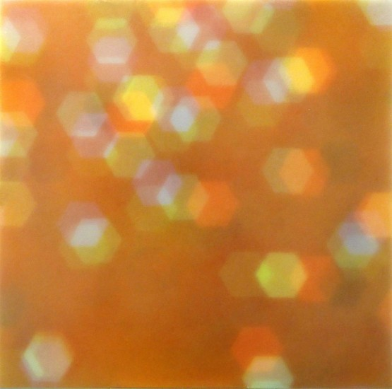 Mike Solomon ,   Bokeh 1  ,  2015     Watercolor on papers infused with resin ,  36 x 36 in. (91.4 x 91.4 cm)     © Mike Solomon     MSOL-00029
