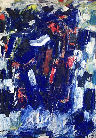 Stephen Pace ,   Untitled (57-07) | SOLD  ,  1957     Oil on canvas ,  50 x 36 in. (127 x 91.4 cm)     SOLD     PAC-00020