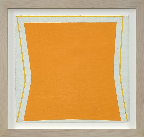 Larry Zox ,   Rotation III  ,  1964     Acrylic on paper ,  14 x 16 in. (35.6 x 40.6 cm)     ZOX-00080
