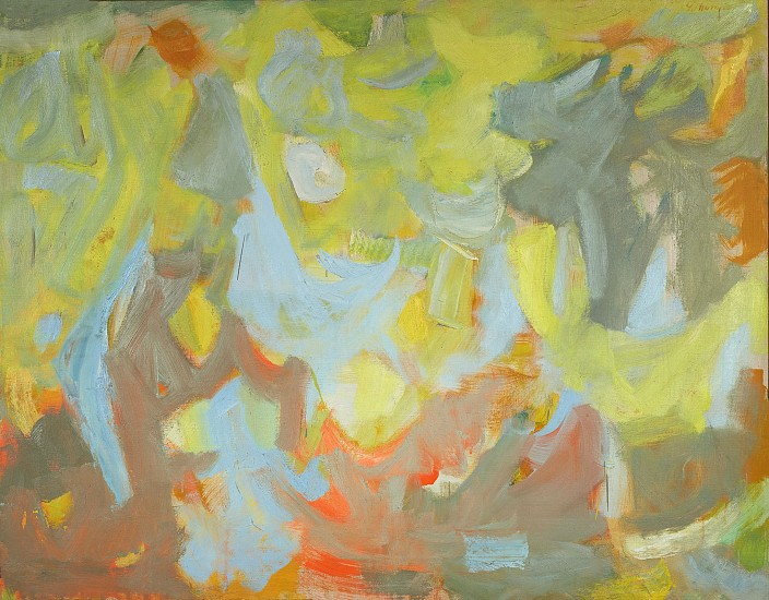 Yvonne Thomas ,   Transcendence | SOLD  ,  1954     Oil on canvas ,  40 x 51 3/4 in. (101.6 x 131.4 cm)     THO-00012