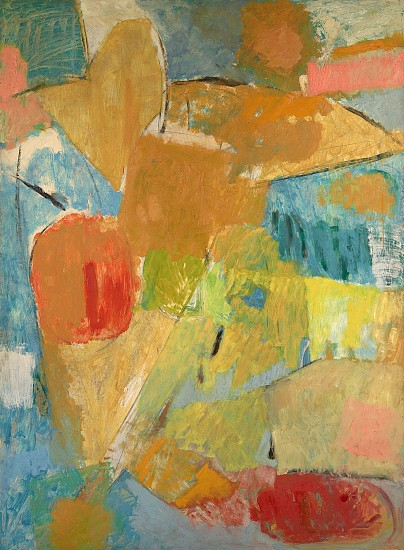 Yvonne Thomas ,   Summer Day II | SOLD  ,  1952     Oil on canvas ,  48 x 64 in. (121.9 x 162.6 cm)     SOLD     THO-00005
