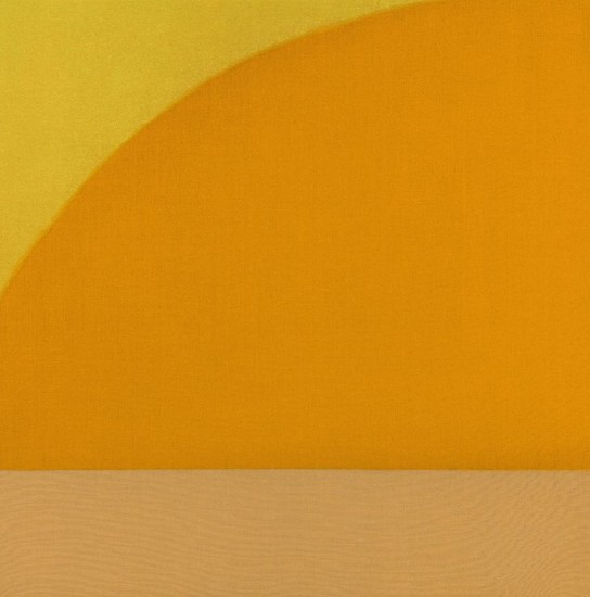 Susan Vecsey ,   Untitled (Yellow Orange) | SOLD  ,  2015     Oil on linen ,  54 x 54 in. (137.2 x 137.2 cm)     SOLD     VEC-00087