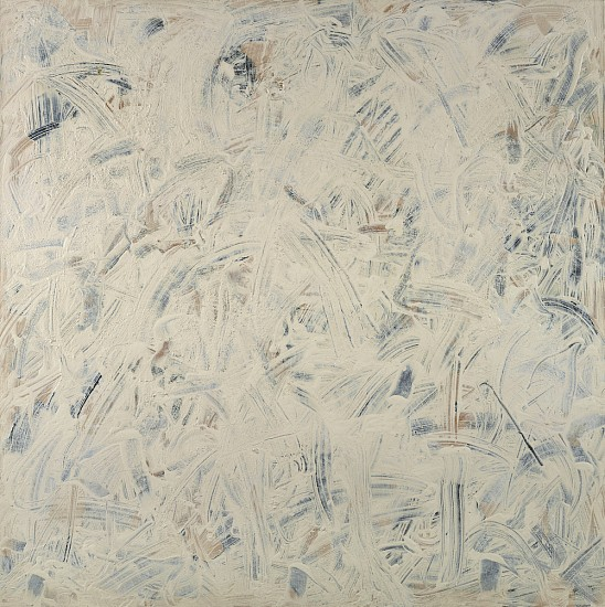 Frank Wimberley ,   Large White | SOLD  ,  2002     Acrylic on canvas ,  60 x 60 in. (152.4 x 152.4 cm)     WIM-00013