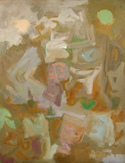 Yvonne Thomas ,   Untitled | SOLD  ,  1956     Oil on canvas ,  51 5/8 x 39 7/8 in. (131.1 x 101.3 cm)     THO-00099