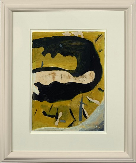Perle Fine ,   Untitled  ,  1954     Gouache and collage on paper ,  12 1/2 x 9 1/8 in. (31.8 x 23.2 cm)     FIN-00083
