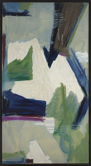 Judith Godwin ,   Abstraction 1954 | SOLD  ,  1954     Oil on canvas ,  72 1/2 x 39 1/8 in. (184.2 x 99.4 cm)     GOD-00046