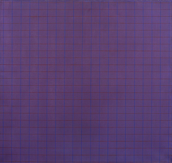 Perle Fine ,   An Accordment #80  ,  1974     Acrylic on canvas ,  38 x 40 in. (96.5 x 101.6 cm)     © A.E. Artworks LLC     FIN-00022