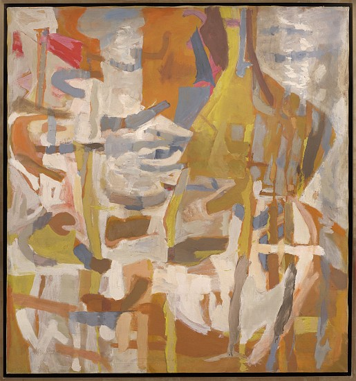 Perle Fine ,   Painting No. 56 | SOLD  ,  c. 1954     Oil on canvas ,  60 x 56 in. (152.4 x 142.2 cm)     © AE Artworks LLC     FIN-00111