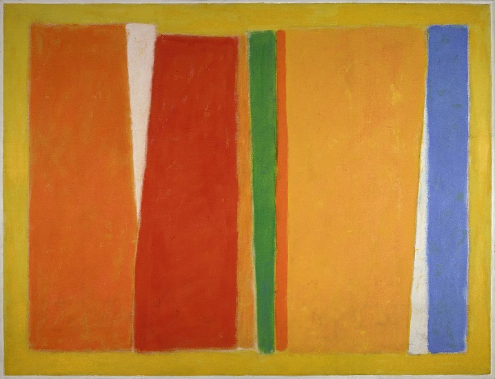 John Opper ,   Untitled (5-71)  ,  1971     Acrylic on canvas ,  80 x 104 in. (203.2 x 264.2 cm)     OPP-00038
