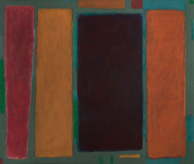 John Opper ,   Untitled  ,  1968     Acrylic on canvas ,  60 x 80 in. (152.4 x 203.2 cm)     OPP-00006