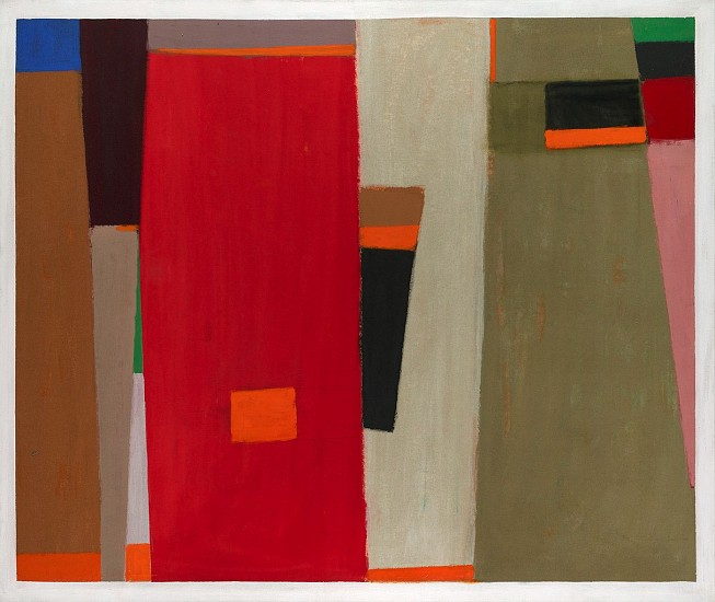 John Opper ,   Untitled  ,  1969     Acrylic on canvas ,  54 x 72 in. (137.2 x 182.9 cm)     OPP-00009