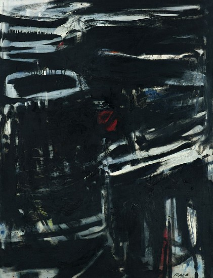 Stephen Pace ,   Untitled (52-51)  ,  1952     Oil on canvas ,  40 x 30 in. (101.6 x 76.2 cm)     PAC-00163
