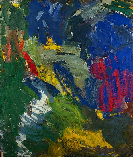 Stephen Pace ,   Untitled (60-A19)  ,  1960     Oil on canvas ,  60 x 50 in. (152.4 x 127 cm)     PAC-00064