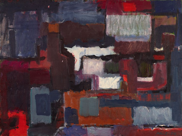 Stephen Pace ,   Untitled (50-21)  ,  1950     Oil on canvas ,  24 x 32 in. (61 x 81.3 cm)     PAC-00194