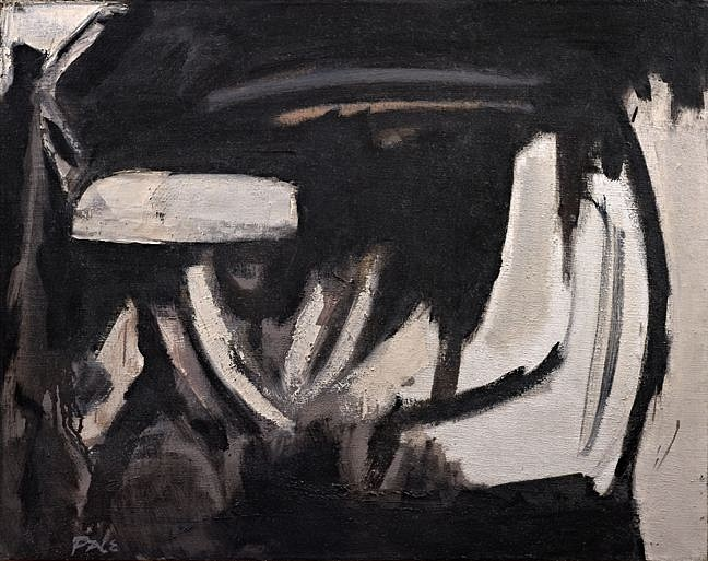 Stephen Pace ,   Untitled (53-04)  ,  1953     Oil on canvas ,  22 x 28 in. (55.9 x 71.1 cm)     PAC-00095