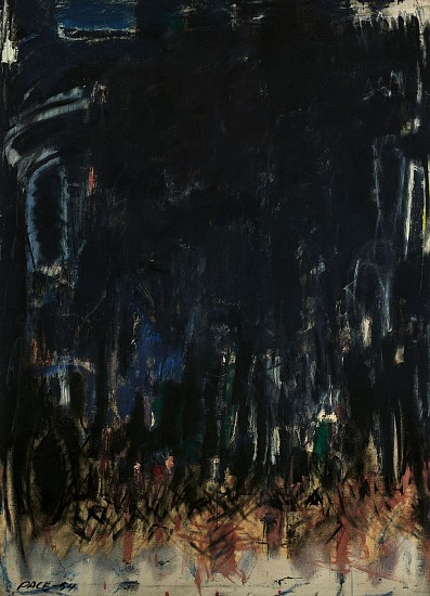 Stephen Pace ,   Untitled (54-60)  ,  1954     Oil on canvas ,  56 x 40 in. (142.2 x 101.6 cm)     PAC-00167