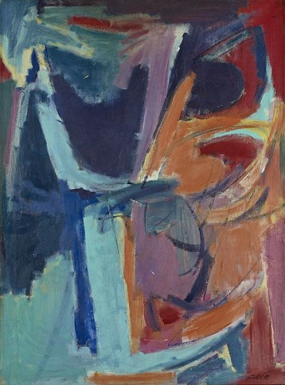 Stephen Pace ,   Untitled (52-53)  ,  1952     Oil on canvas ,  40 x 30 in. (101.6 x 76.2 cm)     PAC-00027