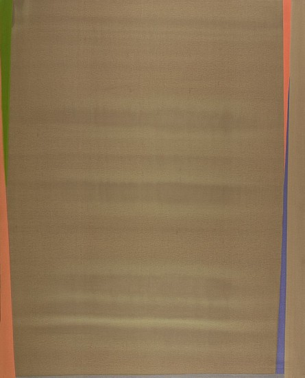 Larry Zox ,   Untitled  ,  c. 1973     Acrylic on canvas ,  97 x 78 in. (246.4 x 198.1 cm)     ZOX-00060