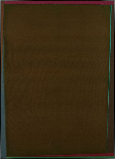 Larry Zox ,   Jenny Lind Is.  ,  1973     Acrylic on canvas ,  70 x 51 in. (177.8 x 129.5 cm)     ZOX-00143