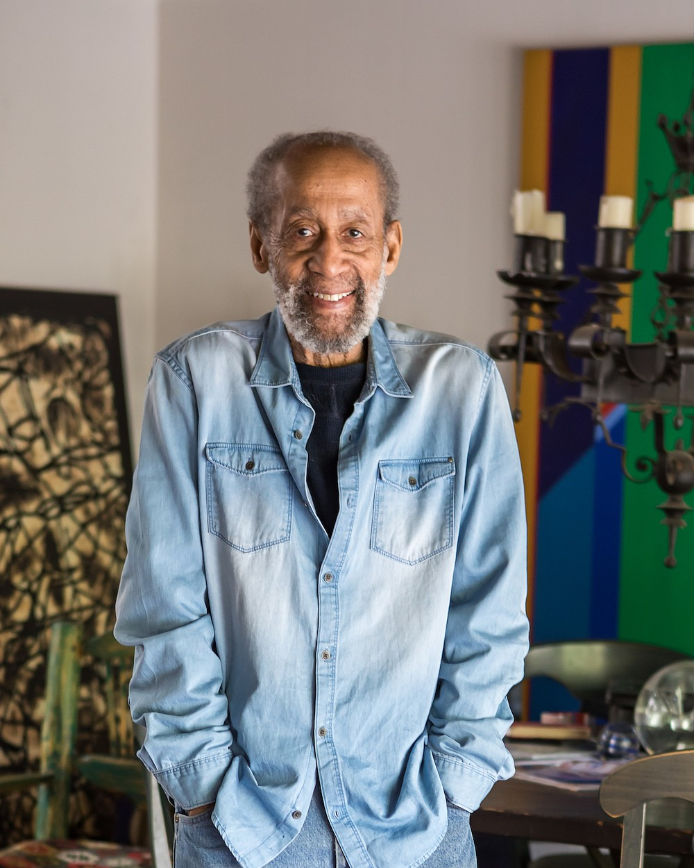 Artist Frank Wimberley, at 94, is still full of surprises
